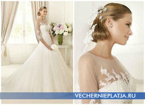 Осенние свадебные платья принцесса 2012