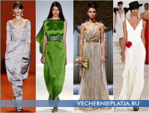 Длинные выпускные платья 2013 фото - Andrew Gn, Carlos Miele, Dennis Basso, Ralph Lauren