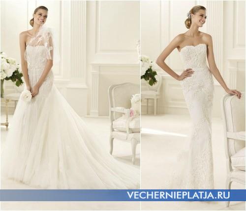 Свадебные платья Проновиас 2013 в коллекции «Manuel Mota 2013»