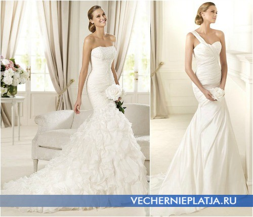 Свадебные платья Pronovias коллекция GLAMOUR 2013