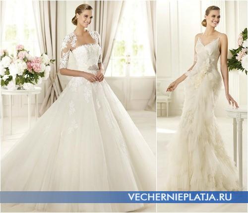 Испанские свадебные платья Pronovias, коллекция GLAMOUR 2013