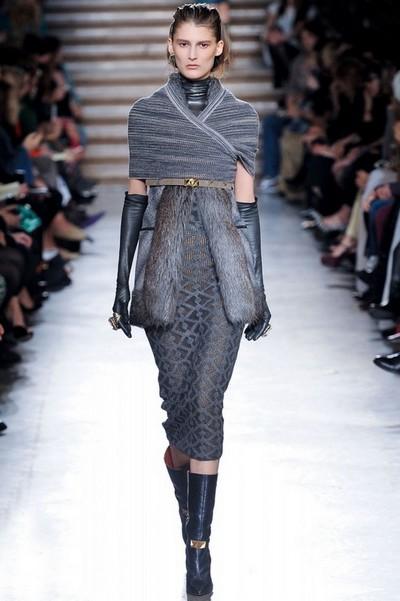 Вязаные модные платья на зиму 2012-2013 от Missoni