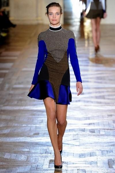 Трикотажное вязаное платье Осень-Зима 2012-2013 от Stella McCartney