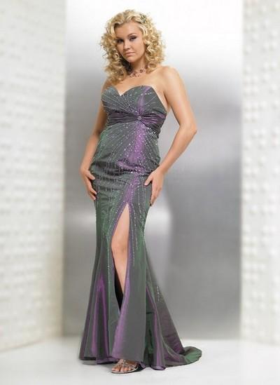 Роскошное выпускное платье 2013 для полных фото