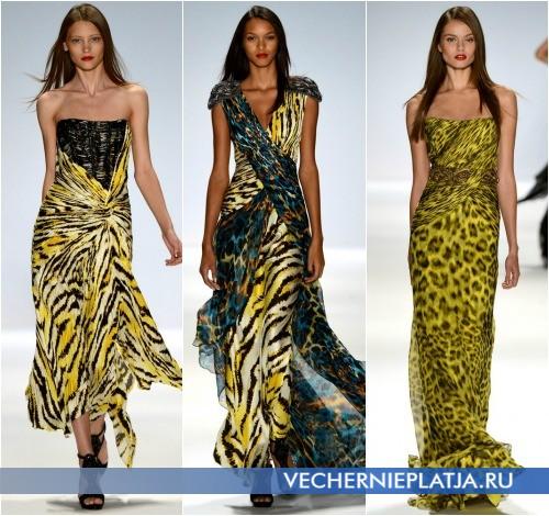 Модные платья с принтом от Carlos Miele Весна-Лето 2013