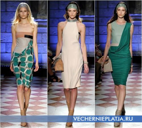 Модные офисные платья лето 2013 от Genny
