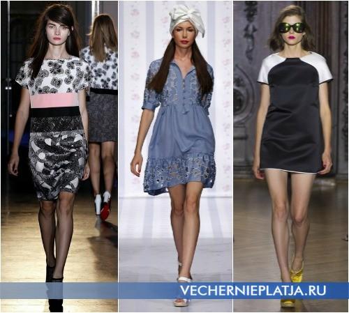 Летние платья 2013 в коллекциях Rue du Mail, Luisa Beccaria, Giles