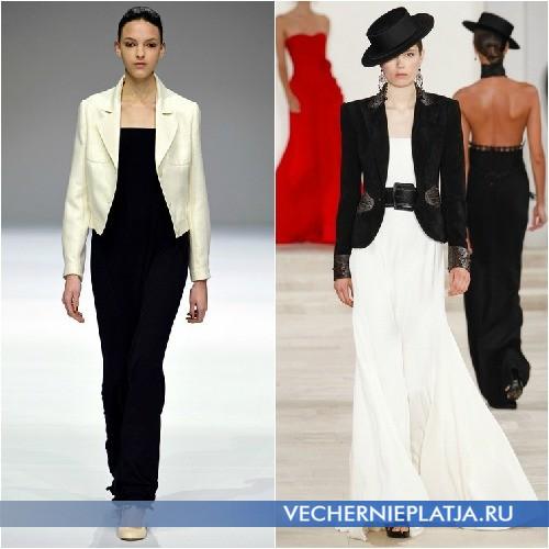 Черное и белое платье в пол летнее