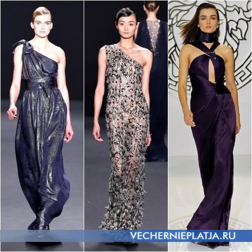 Модели греческих платьев для Нового года 2014
