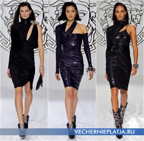 Платье новый год с рукавами
