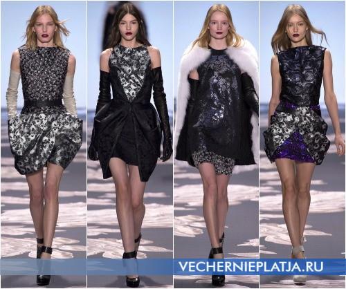 Короткие клубные платья на Новый 2014 год
