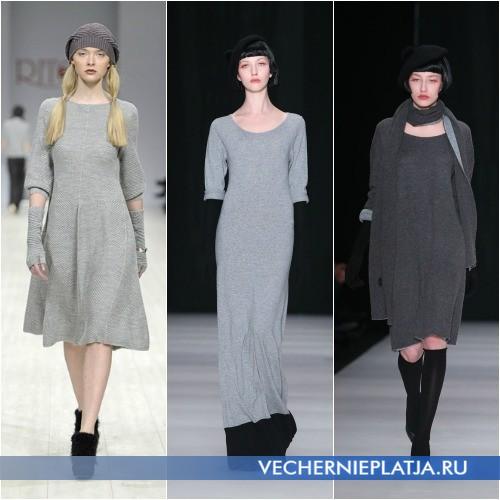 Модные осенние платья 2013 фото