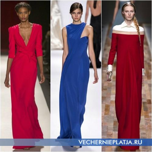 Длинные вечерние платья Осень-Зима 2013-2014