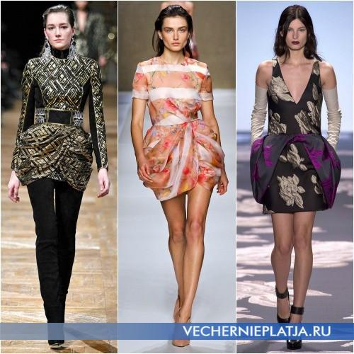Платье-тюльпан для молодых девушек