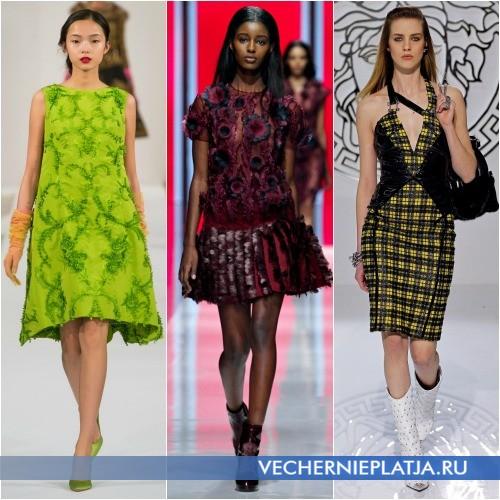 Яркие платья для стильной молодежи