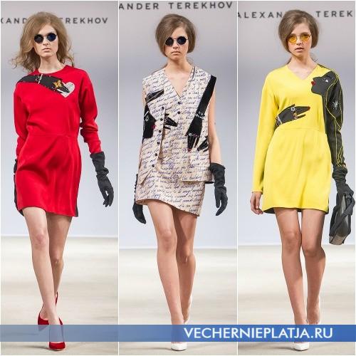 Яркие и стильные платья с оригинальным принтом