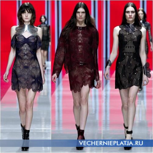 Ажурные платья 2013-2014 фото