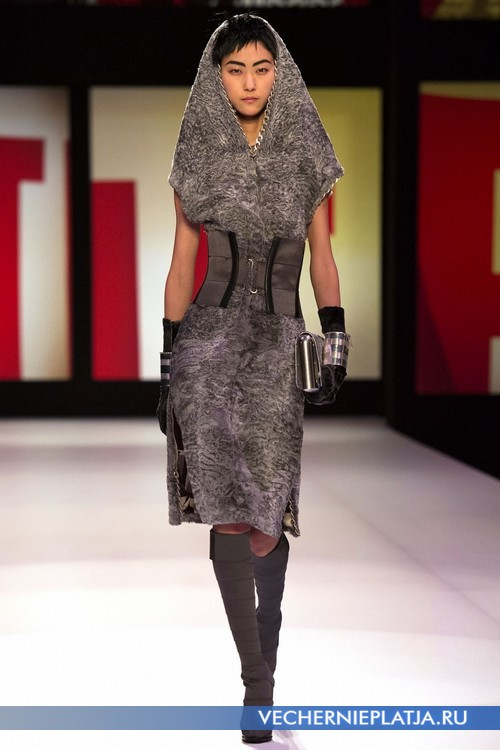 Фото меховые платья 66