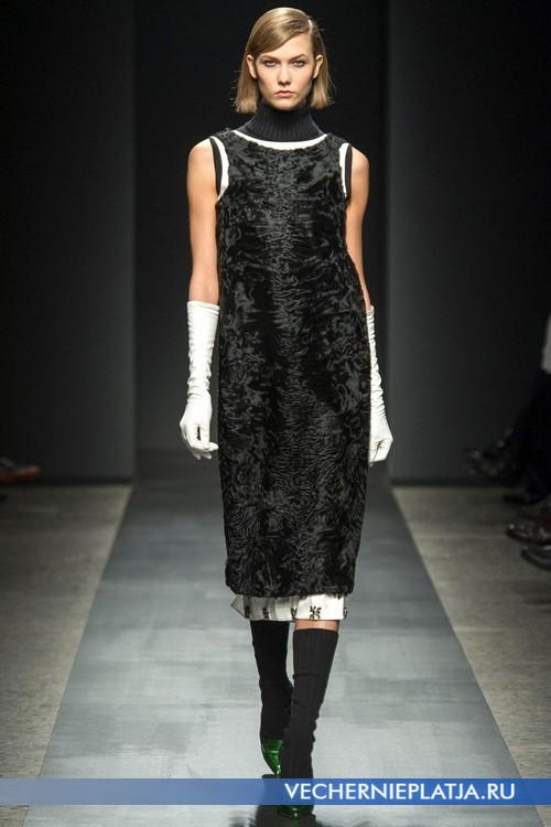 Самые роскошные платья их меха, модель Ports 1961