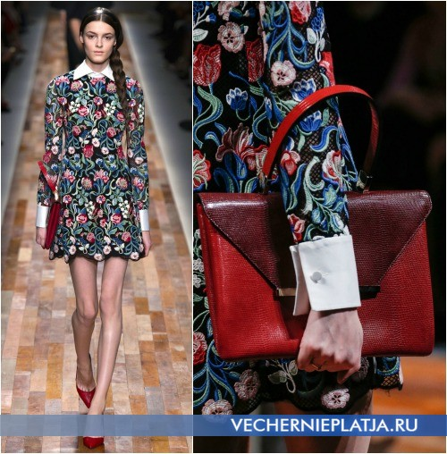 Клатч и обувь к платью