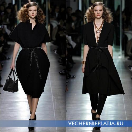 Маленькое черное платье oversize
