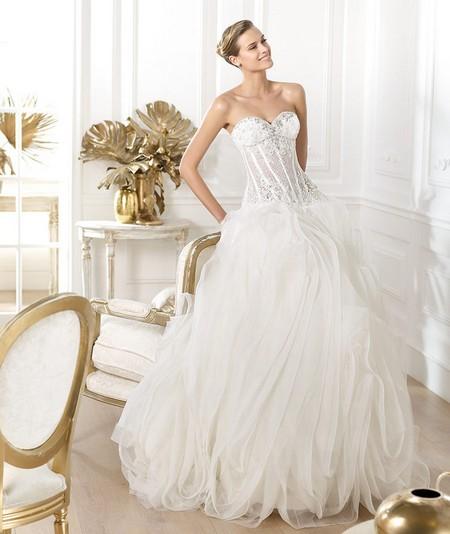 Самые красивые пышные платья для невест
