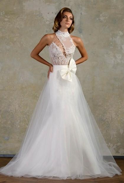 Оригинальные свадебные платья 2014 Bien Savvy фото