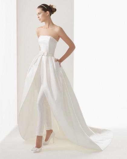 Свадебные платья с брюками Rosa Clara 2014