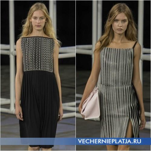 Платья с надписью бренда Alexander Wang