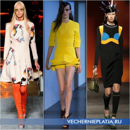 Какие платья модные весной 2014