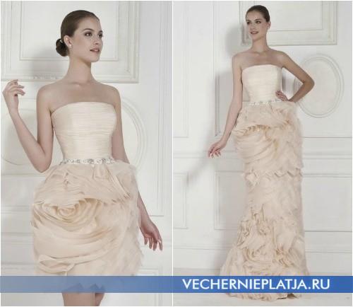 Платье-трансформер свадебное фото