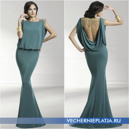 Длинные платья 2014 в стиле ампир на выпускной