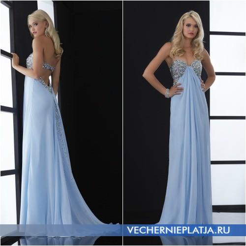 Красивые длинные платья на выпускной вечер 2014 года