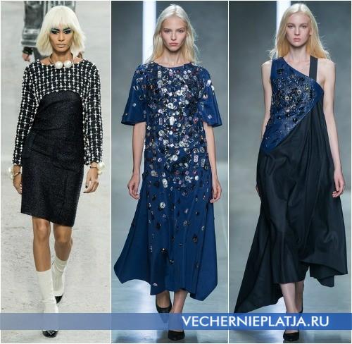 Модная аппликация на платье