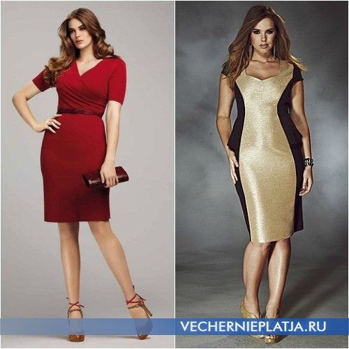 Модели платьев скрывающие живот фото