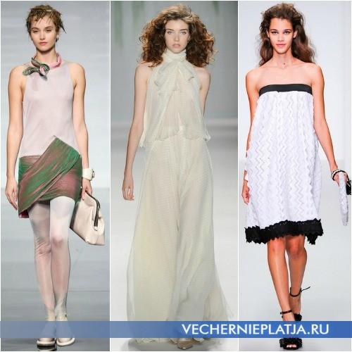 Летние фасоны платьев скрывающие живот фото