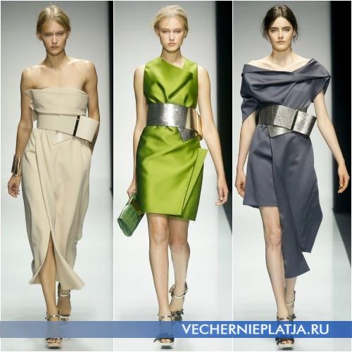 Оригинальные модели платьев с запахом