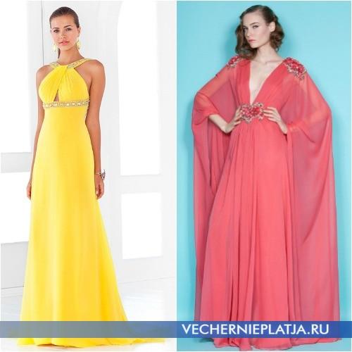 платья для высоких девушек фото