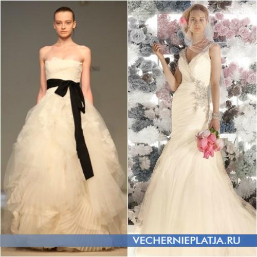С чем сочетать платье цвета шампань