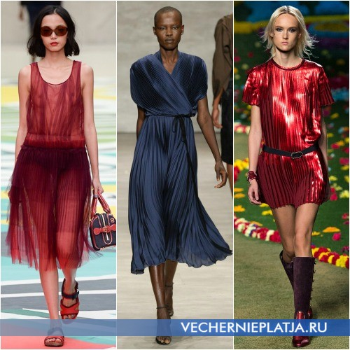 Платья-плиссе 2015
