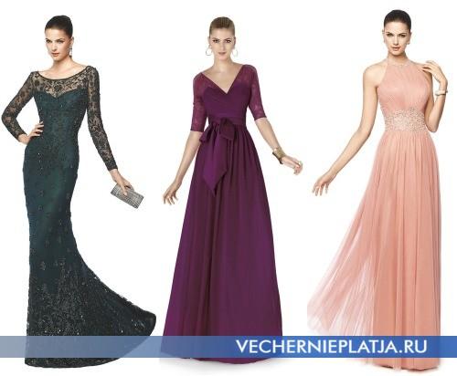 Тренды прошлых десятилетий для выпускных платьев 2015 фото