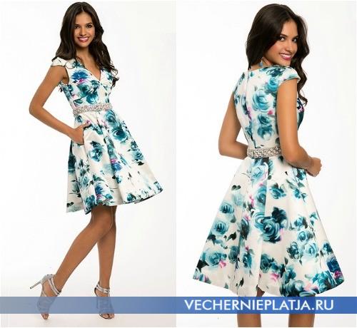 Модные выпускные платья 2015 в цветах фото
