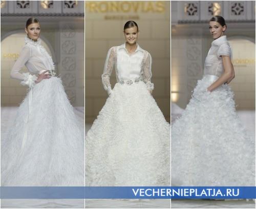 Свадебные платья-рубашки 2015