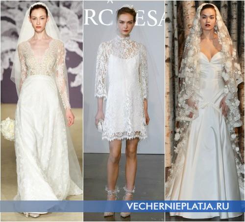 Фата к свадебным платьям 2015