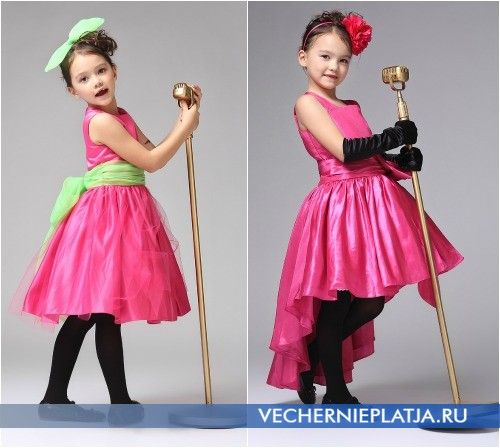 Платья черные для девочек своими руками