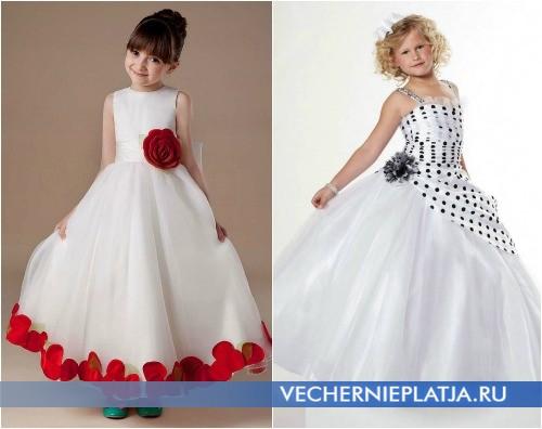 Расцветки платьев для выпускного в детском саду 2015 фото