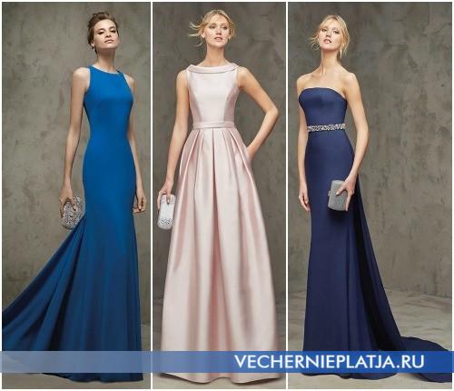Роскошные платья в пол на выпускной 2016 фото