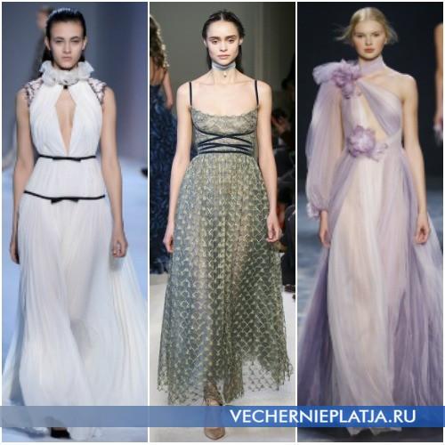 Модные платья Осень-Зима 2016-2017 в греческом стиле