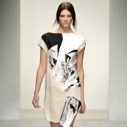 Черно-белое платье: самые удачные композиции весны и лета 2013