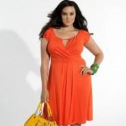 Летние платья для полных — лучшие модели 2011 года